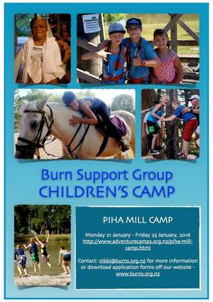 Burn Support Group Childrens Camp