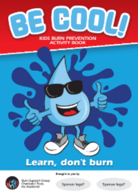 Burn Prevention Activity Book
